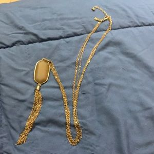 Long necklace with a beautiful pendant